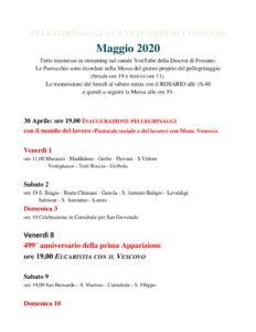 Maggio 2020 Calendario pellegrinaggi CUSSANIO-1